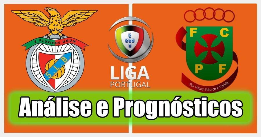 Benfica vs Paços Ferreira – Análise e Prognósticos – Liga Portuguesa