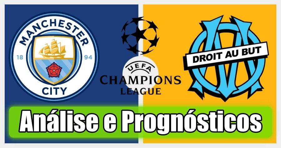 Manchester City vs Marseille – Análise e Prognósticos – Liga dos Campeões