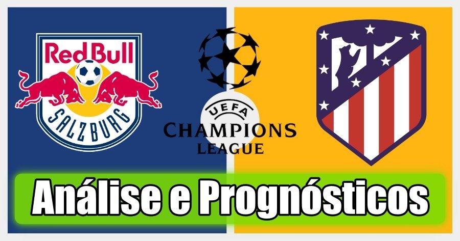 Salzburg vs Atl Madrid – Análise e Prognósticos – Liga dos Campeões