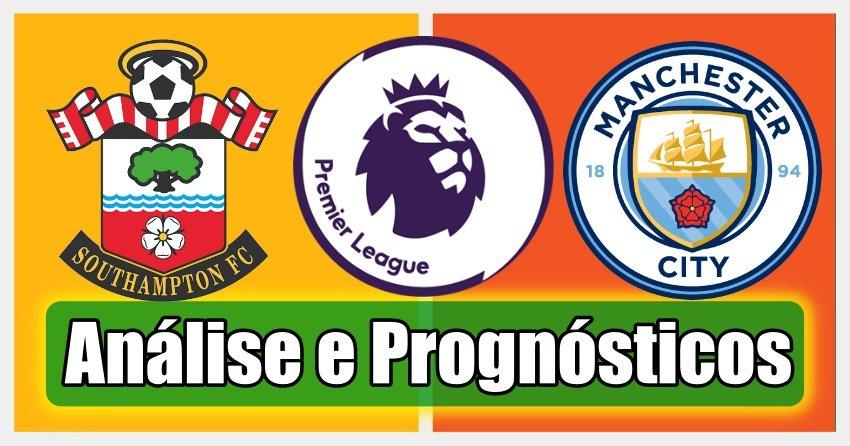 Southampton vs Man City – Análise e Prognósticos – Premier League