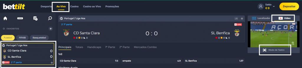 Como Assistir ao jogo Santa Clara Benfica online e com excelente qualidade