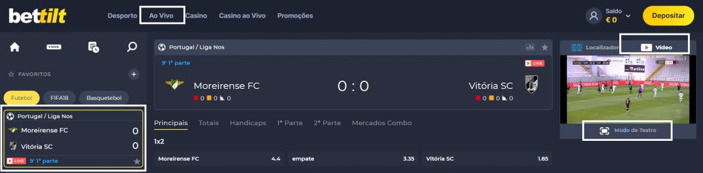Assistir Moreirense Guimarães assiste ao jogo online e grátis