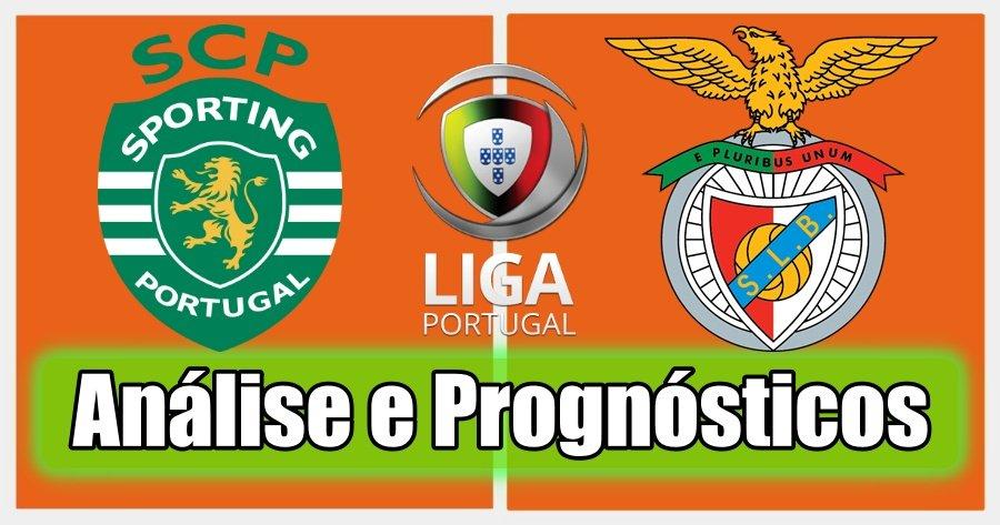 Sporting vs Benfica – Análise e Prognósticos – Primeira Liga