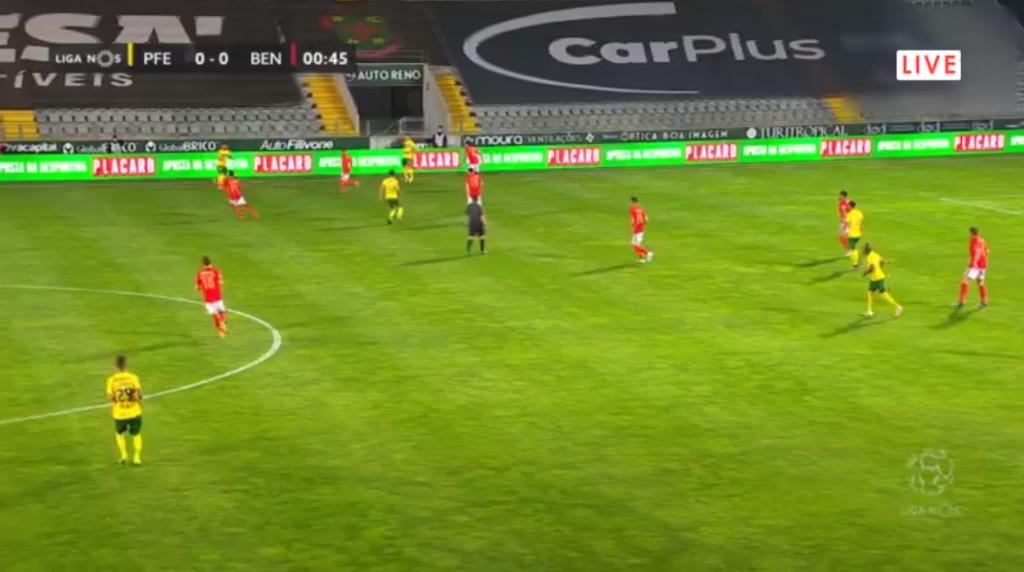 Paços Ferreira Benfica online assiste ao jogo com excelente qualidade