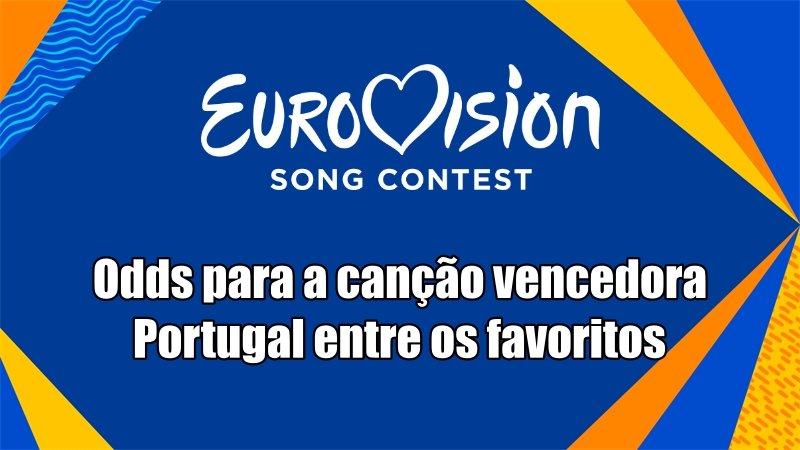 Festival Eurovisão da Canção 2021 Odds para a canção vencedora, Portugal entre os favoritos