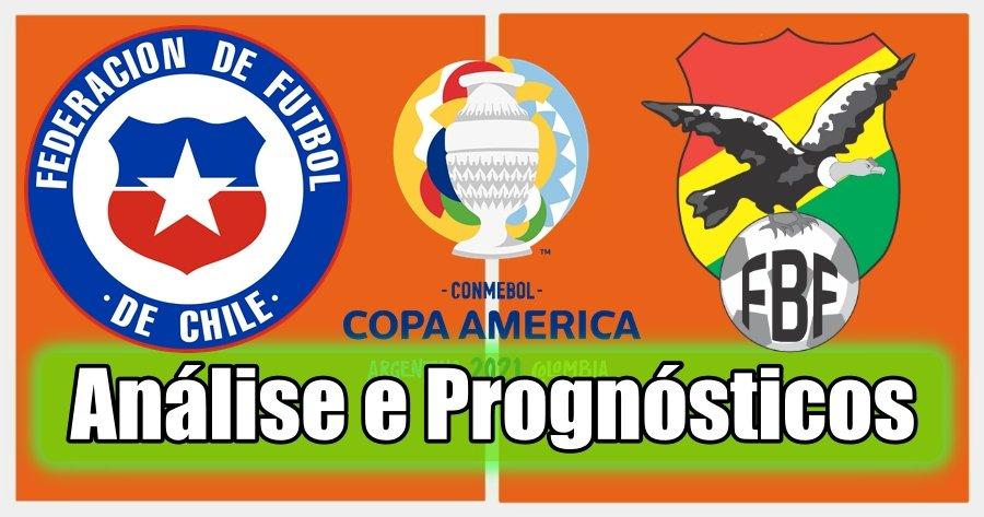 Chile vs Bolívia – Análise e Prognósticos – Copa América