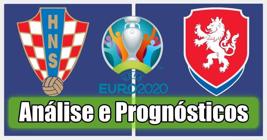 Croácia vs República Checa – Análise e Prognósticos – Campeonato da Europa
