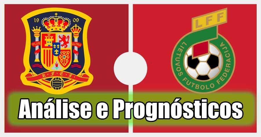 Espanha vs Lituânia – Análise e Prognósticos – Jogo Amigável