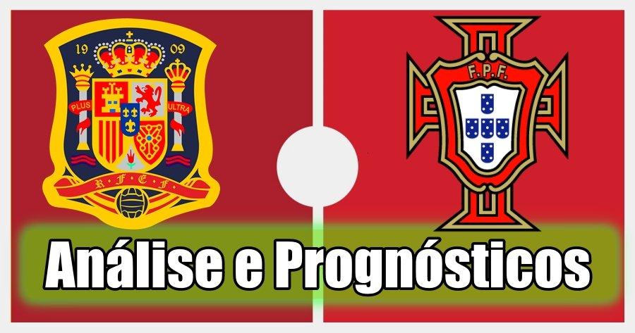 Espanha vs Portugal – Análise e Prognósticos – Jogo Amigável