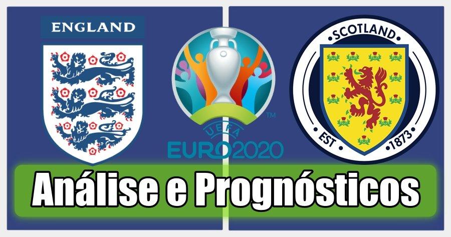 Inglaterra vs Escócia – Análise e Prognósticos – Campeonato da Europa