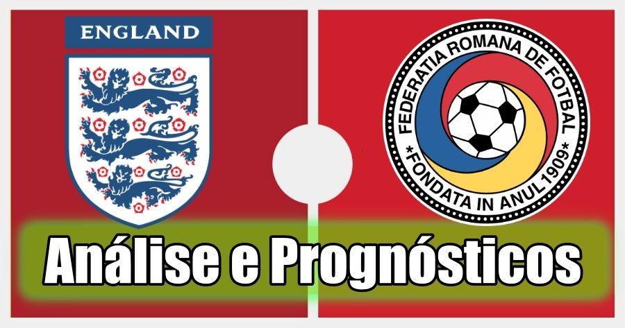 Inglaterra vs Roménia – Análise e Prognósticos – Jogo Amigável