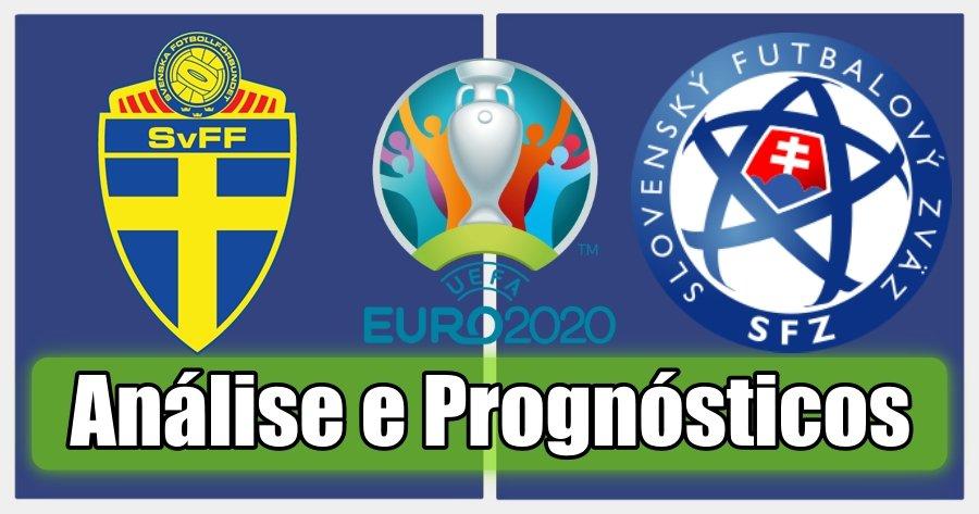 Suécia vs Eslováquia – Análise e Prognósticos – Campeonato da Europa