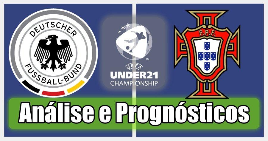 Alemanha S21 vs Portugal S21 – Análise e Prognósticos – Campeonato Europeu de Sub21