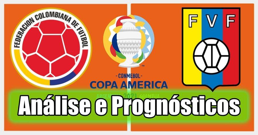 Colômbia vs Venezuela – Análise e Prognósticos – Copa América