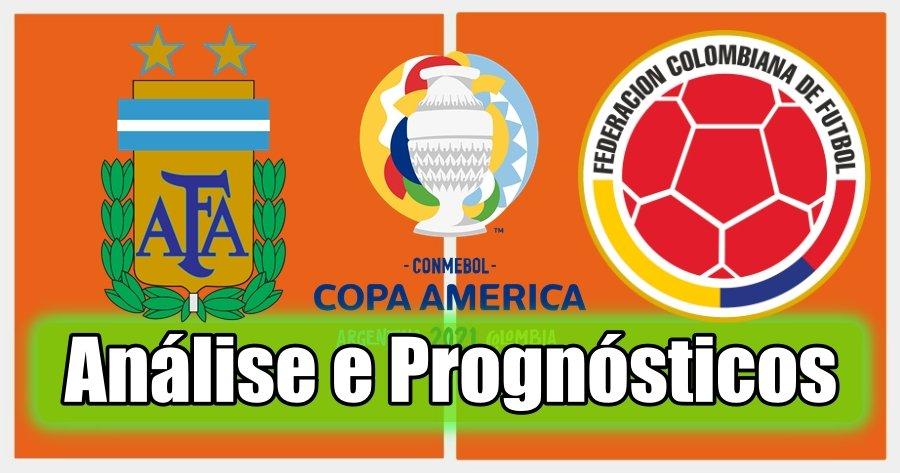 Argentina vs Colômbia – Análise e Prognósticos – Copa América