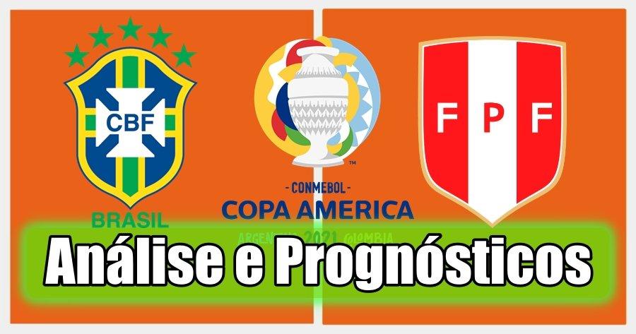 Brasil vs Peru – Análise e Prognósticos – Copa América