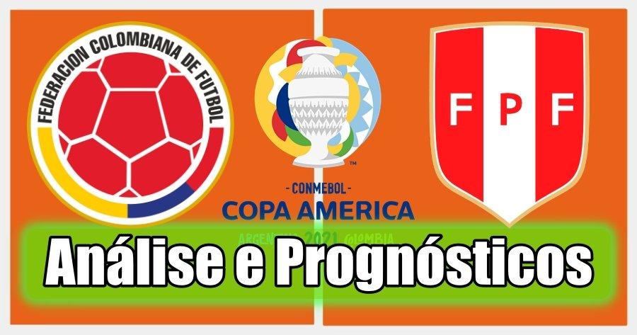Colômbia vs Peru – Análise e Prognósticos – Copa América