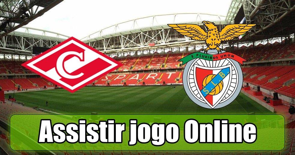 Assistir Spartak de Moscovo Benfica online grátis e com excelente qualidade